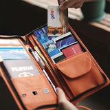 Bucket List Travel Wallet