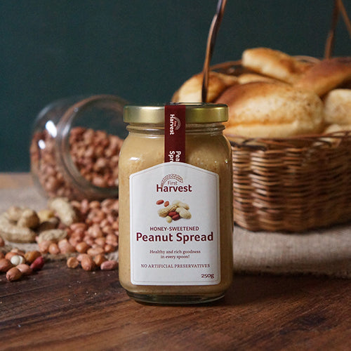 Honey-Sweetened Peanut Spread