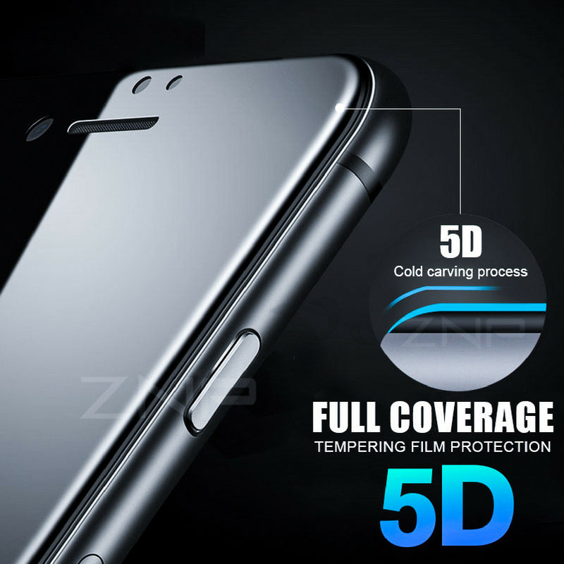 5D Tempered Glass iPhone 6/6s/7/8 & 6/6s/7/8 Plus & iPhone X Case