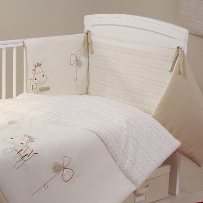 Bed-e-Byes Zippy Zebra Cot / Cotbed Bumper
