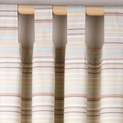 Bed-e-Byes Spike and Buzz Tab Top Curtains 117cm x 137cm