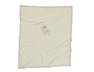 Baxter and Rosie Fleece Blanket
