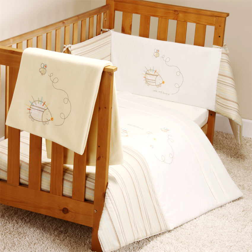 Bed-e-Byes Spike and Buzz 5 Piece Bedding Bale Cot/ Cotbed (Quilt)