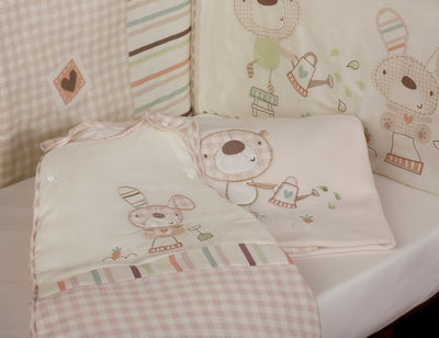 Baxter and Rosie New Born Bedding Set
