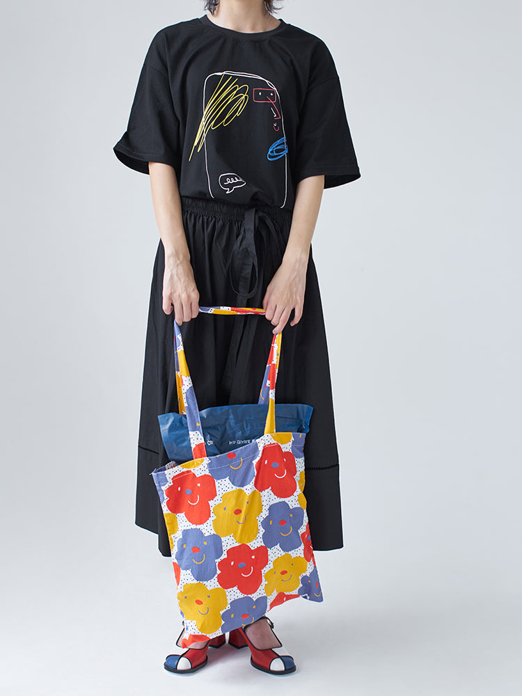 The Smiling Tote - Kina & Tam