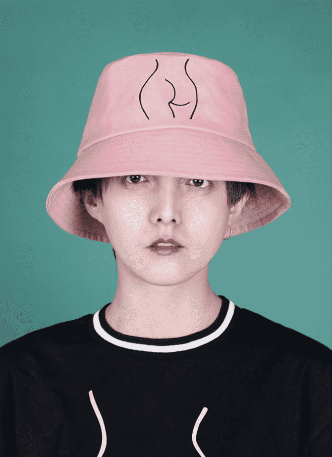 The Peachy Bucket Hat