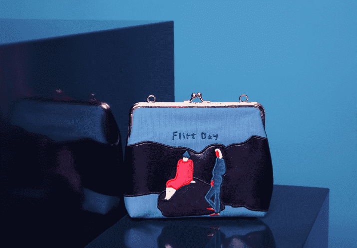 The Flirt Day Clutch Bag - Kina & Tam