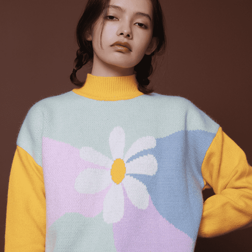 The Wallflower Sweater - Kina & Tam