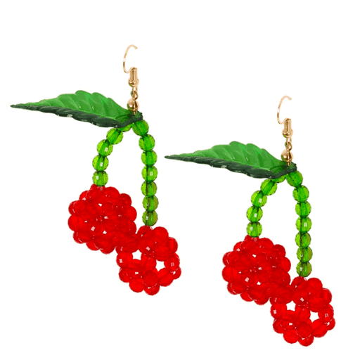 The Cherry On Top Earrings - Kina & Tam