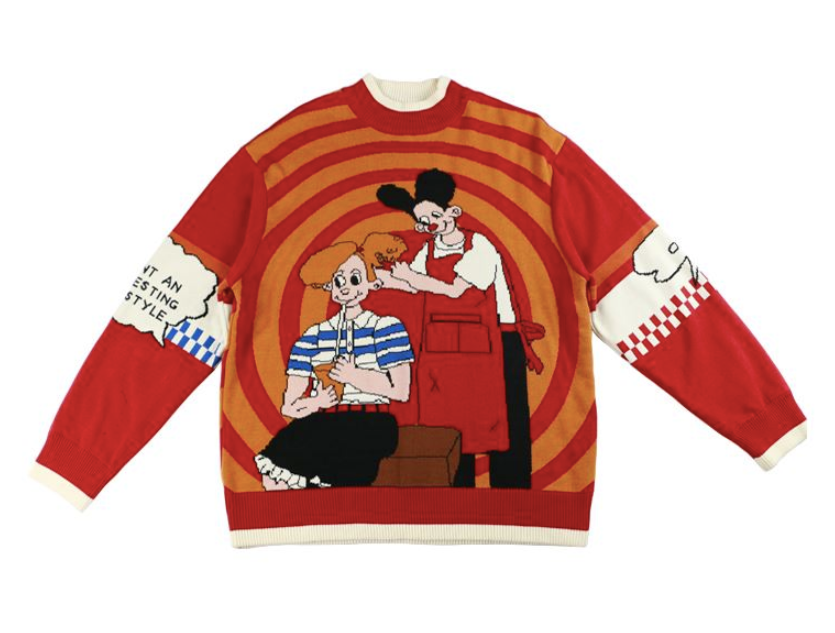 The Barbershop Sweater - Kina & Tam