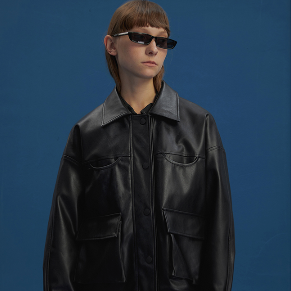 The Espionage Leather Jacket