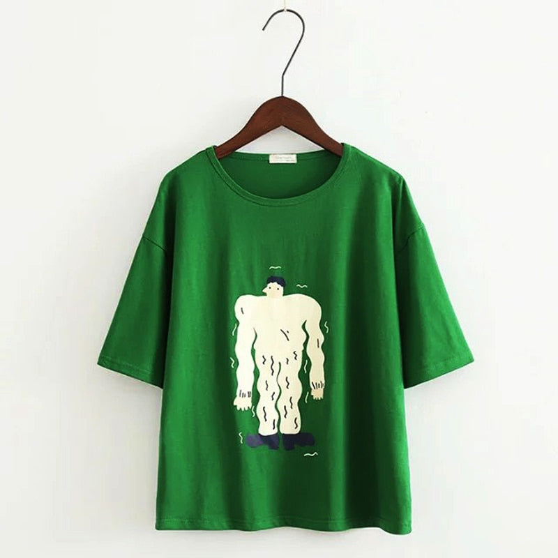 The Muscle Man Tee - Kina & Tam