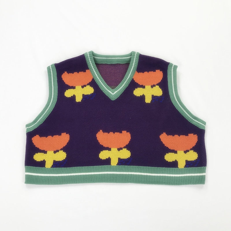 The Tulip Vest - Kina & Tam