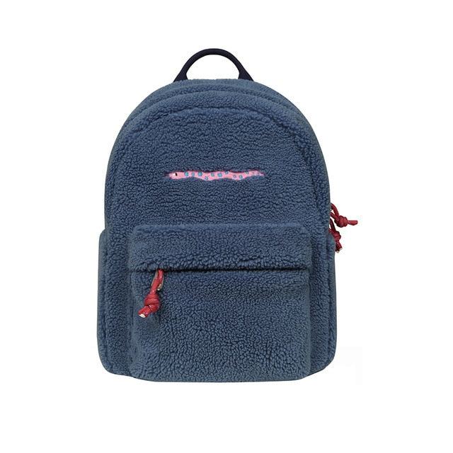 The Worm Fleece Backpack