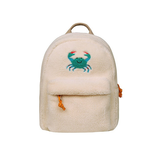 The Crabby Fleece Backpack