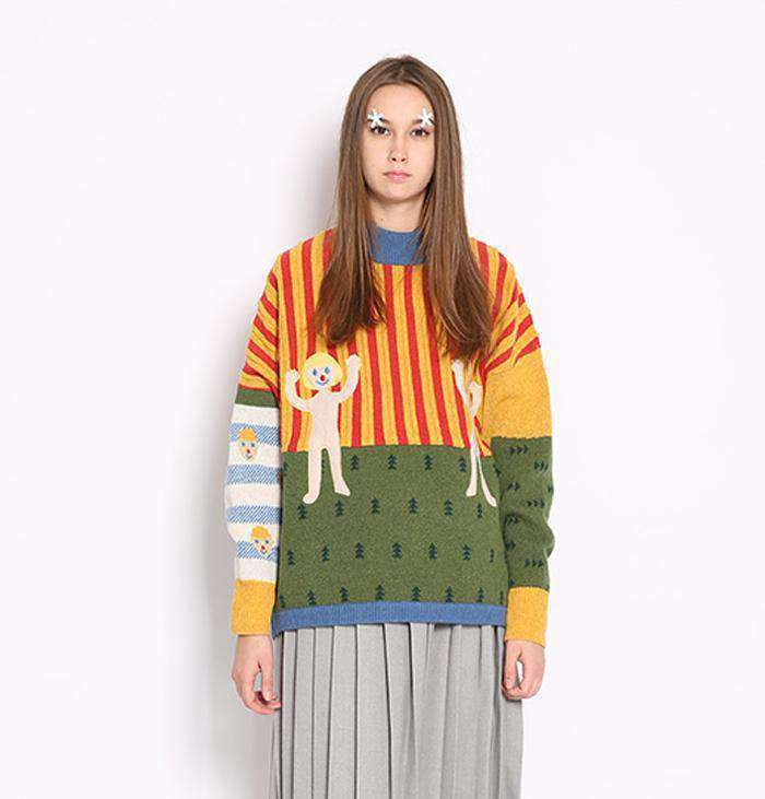 The Nursery Rhyme Sweater - Kina & Tam