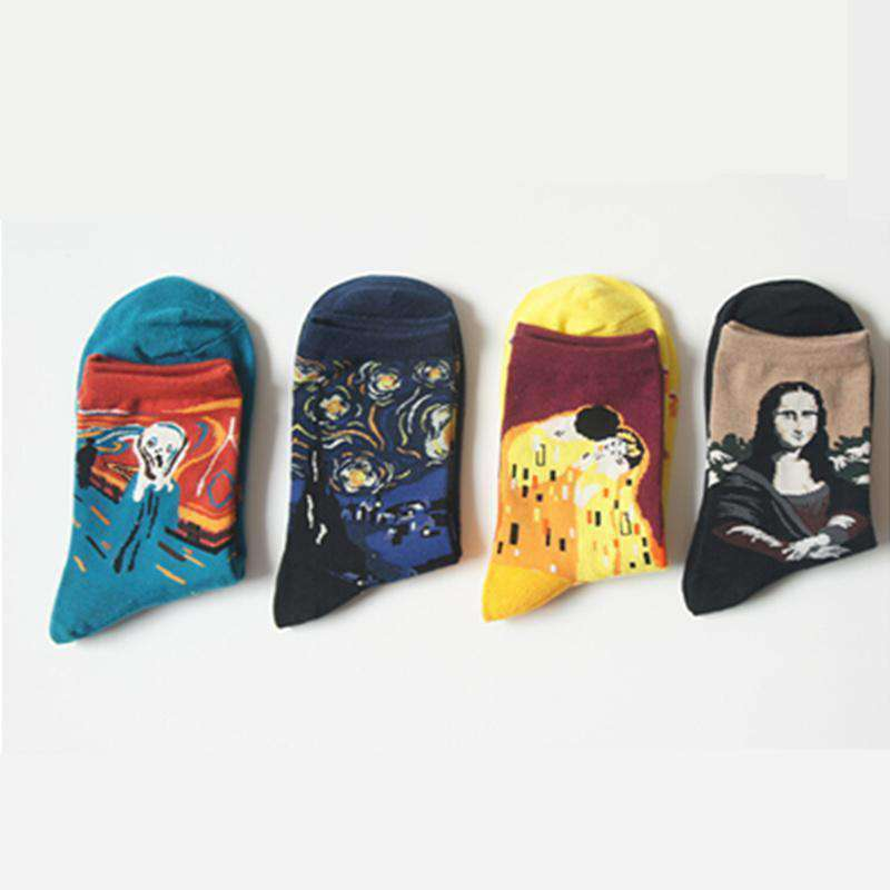 The Art Class Sock Set 4 pairs/lot - Kina & Tam