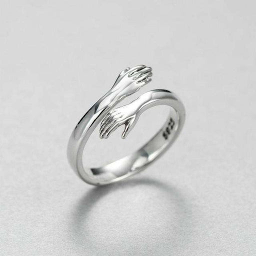 Hand Adjustable Ring in 925 Sterling Silver