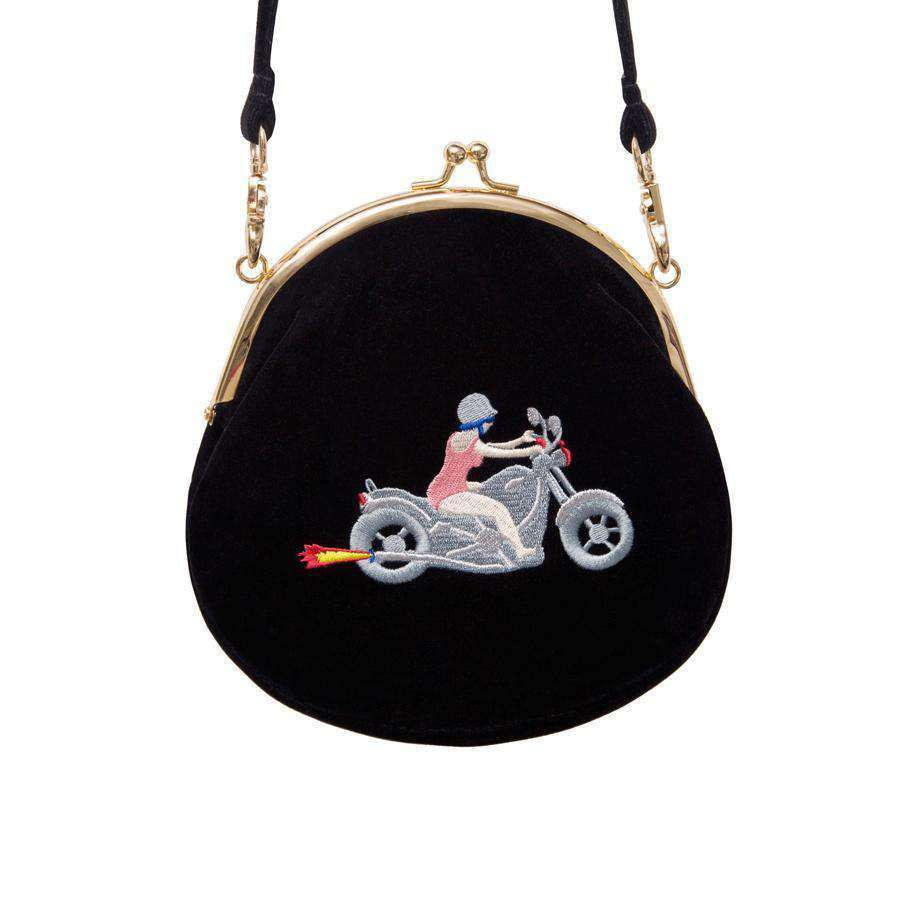 The Biker Babe Mini Messenger Bag - Kina & Tam