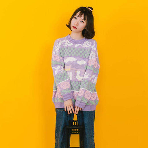 The Sweetheart Sweater - Kina & Tam