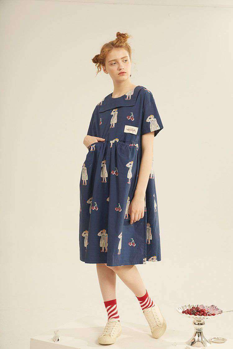 The Cherry Girl Dress - Kina & Tam