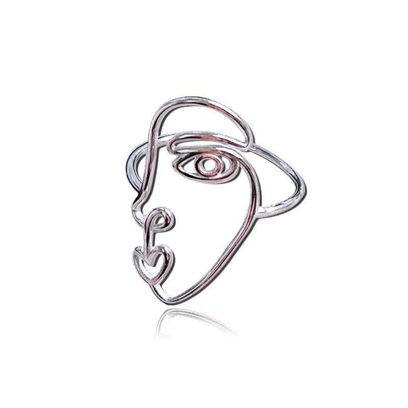 The Shiloh Ring in 925 Sterling Silver