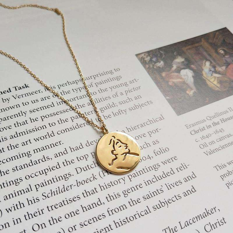 The Earl Necklace in Gold Plated Sterling Silver - Kina & Tam