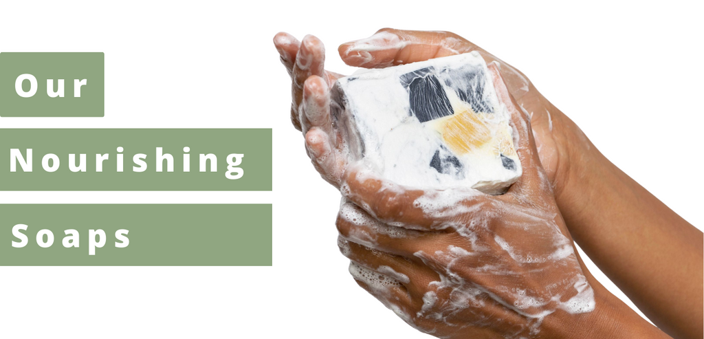 Lathering bar soap