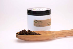 Coffee and Sugar Scrub relieves dry skin and alleviates eczema and psoriasis