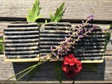 Floral Mint Bar Soap without Goats Milk - soothing and vegan friendly