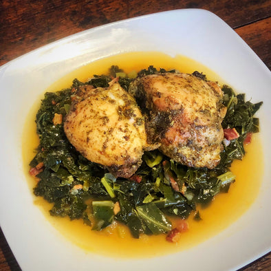 Chicken & Greens