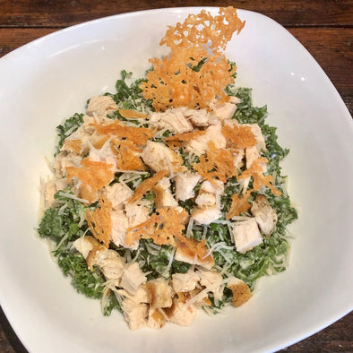 Kale Caesar with Chicken
