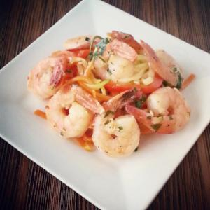 Shrimp Scampi with Julienned Vegetables - Pre-Order