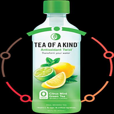 Tea Of A Kind Citrus Mint Green Tea