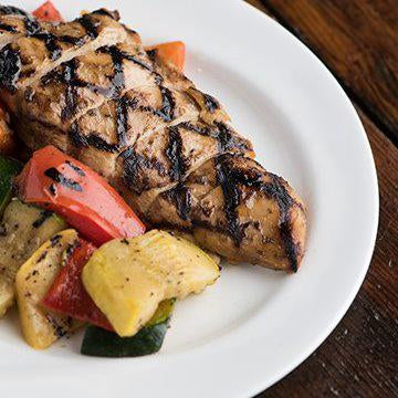 Balsamic Chicken with Grilled Vegetables - Pre-Order