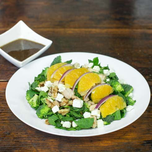 Citrus Chopped Salad with Chicken