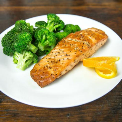 Citrus Salmon with Broccoli - Pre-Order