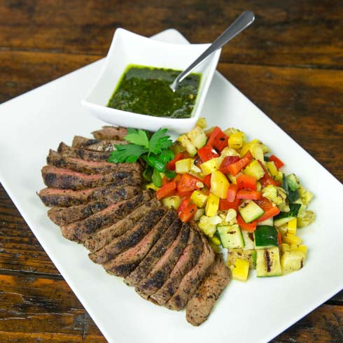 Family Steak Chimichurri