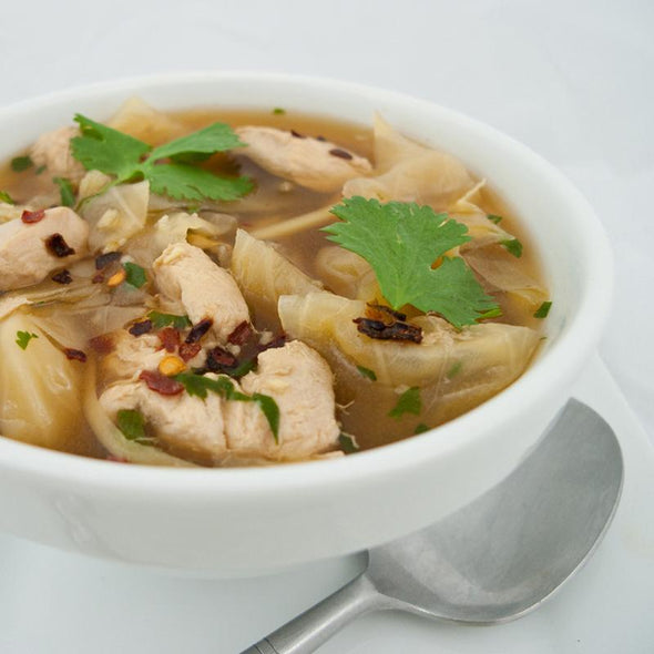 hCG Asian Chicken & Cabbage Soup - Pre-Order