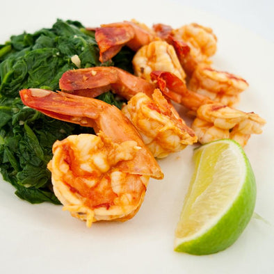 hCG Chipotle Lime Shrimp with Spinach - Pre-Order