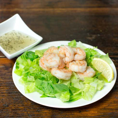 hCG Poached Shrimp Salad