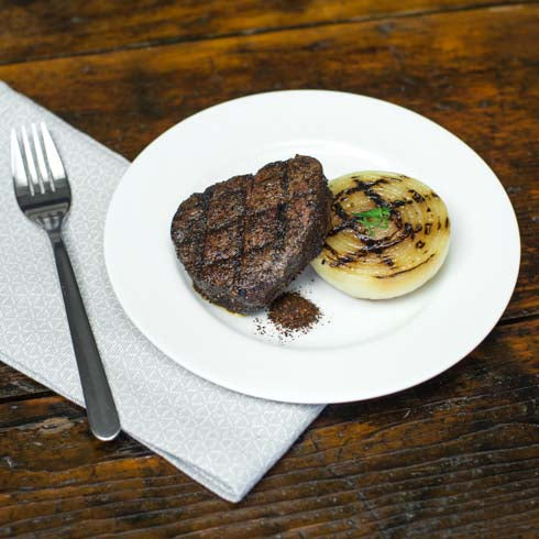 hCG Tenderloin Medallion with Grilled Onion