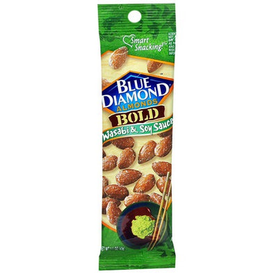 Blue Diamond Almonds- Wasabi & Soy Sauce