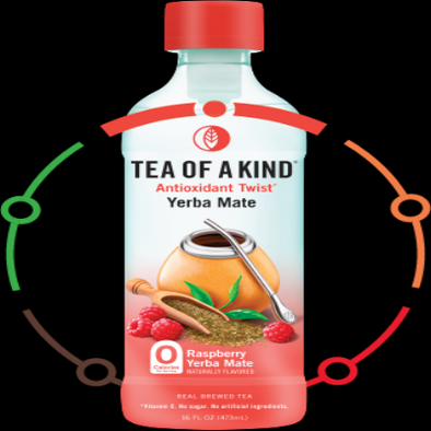 Tea Of A Kind Raspberry Yerba Mate