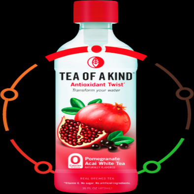 Tea Of A Kind Pomegranate Açaí White Tea