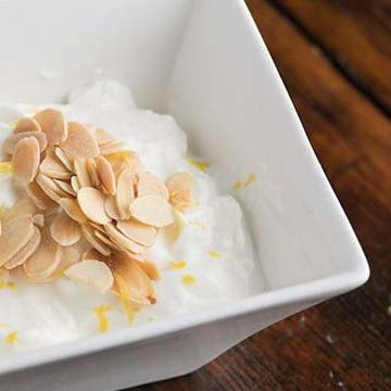 Lemon Almond Parfait