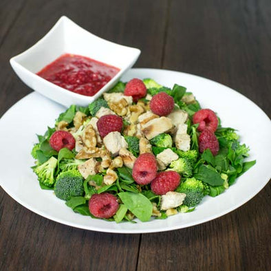 Raspberry Chopped Salad