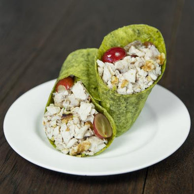 Walnut & Grape Chicken Salad Wrap - Pre-Order