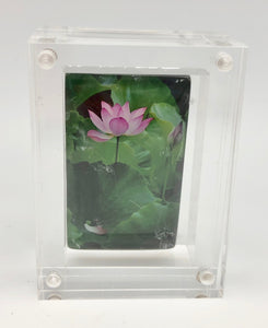 BuDhaGirl Reminder Amulet - Lotus Flower - Friendship and Appreciation