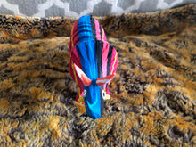 Recycled Flip Flop Sculpture from Kenya - Triceritops